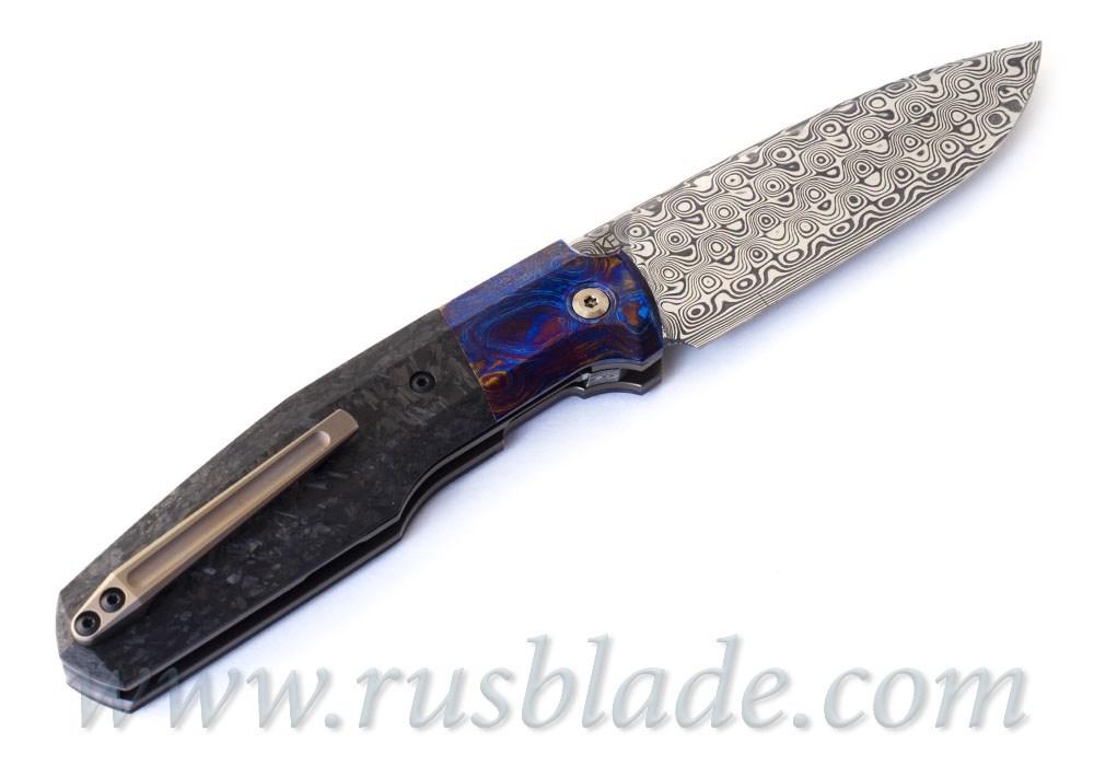 Сет ножей CKF Evolution 2.0 dark Ti и CKF FIF20 TimDam - фотография
