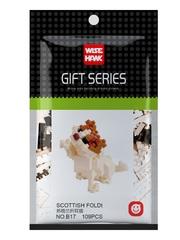 Конструктор Wisehawk & LNO кот Шотландский Фолдт 109 деталей NO. B17 Scottish Foldt Gift Series
