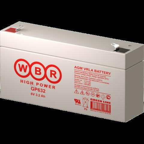 Аккумулятор WBR GP 632