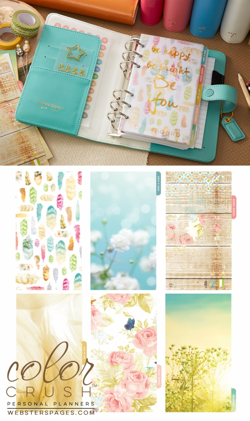 Планер PERSONAL PLANNER KIT : Light Teal by Websters Pages
