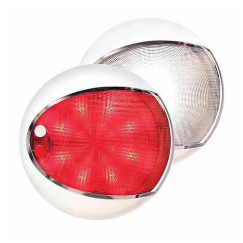 Светильник интерьерный светодиодный, Ø130 мм, белый / красный свет