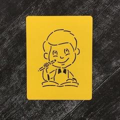 Ученик №16 Мальчик с тетрадкой