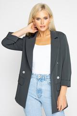 """<div class=""""form-group""""> <p>Модный пиджак """"Бугатти"""" поможет создать эффектный образ. Можно сочетать с брюками, джинсами и юбкой. Незаменимая вещь в гардеробе модниц.</p> <p>&nbsp;</p> </div>"""
