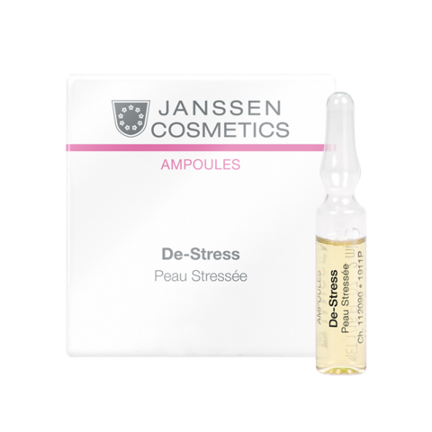 JANSSEN COSMETICS Ампулы антистресс (чувствительная кожа) | De-Stress (sensitive skin) 3х2 ml