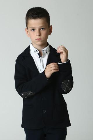 Пиджак для мальчика, трикотажный  Bold Турция, 1486 (122-140)
