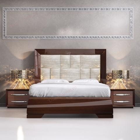 Кровать FRANCO CARMEN темный орех