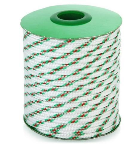 Шнур полипропиленовый плетеный 5мм 16пр.20м