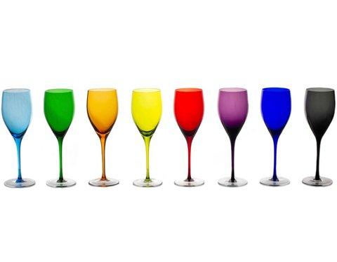 Бокал для вина 320 мл, артикул  1/blue/33054
