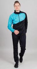 Утеплённый лыжный костюм Nordski Premium Blue-Black 2022