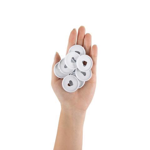 Диски металлические - (крепежный механизм для ежедневников) Happy Planner Expander -  White- 3.3см