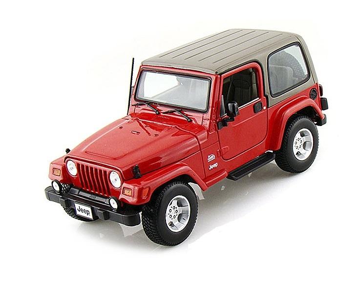 Коллекционная модель Jeep Wrangler Sahara 2014