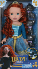 Brave Merida with Bear Brothers