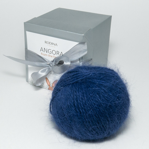 Пряжа ANGORA From The Farmer (color) Rodina Yarns