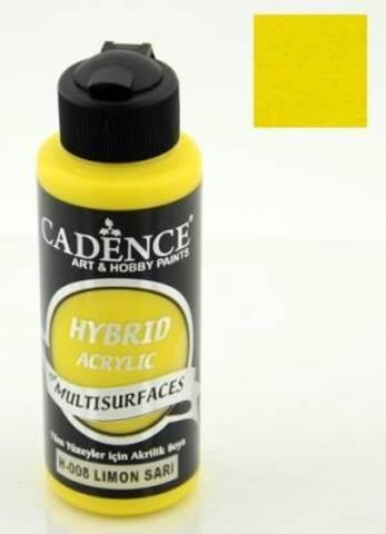 №08 Hybrid Acrylic, Лимон, 70мл., Cadence
