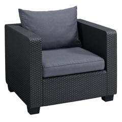 Дачное кресло под ротанг Allibert Salta Chair