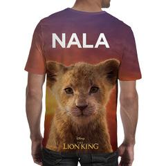 Футболка 3D принт, Король Лев (3Д The Lion King) Нала / Nala 01