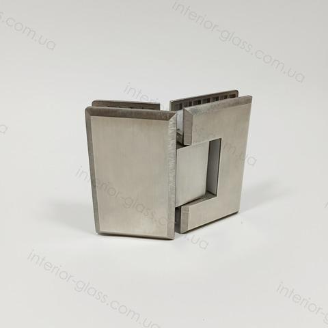 Петля для душевой 135 град. HDL-302 SSS нержавеющая сталь