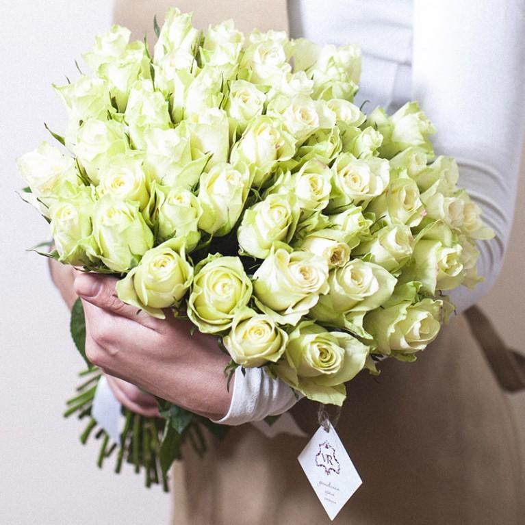Розы ажурные микс 40см от 9шт