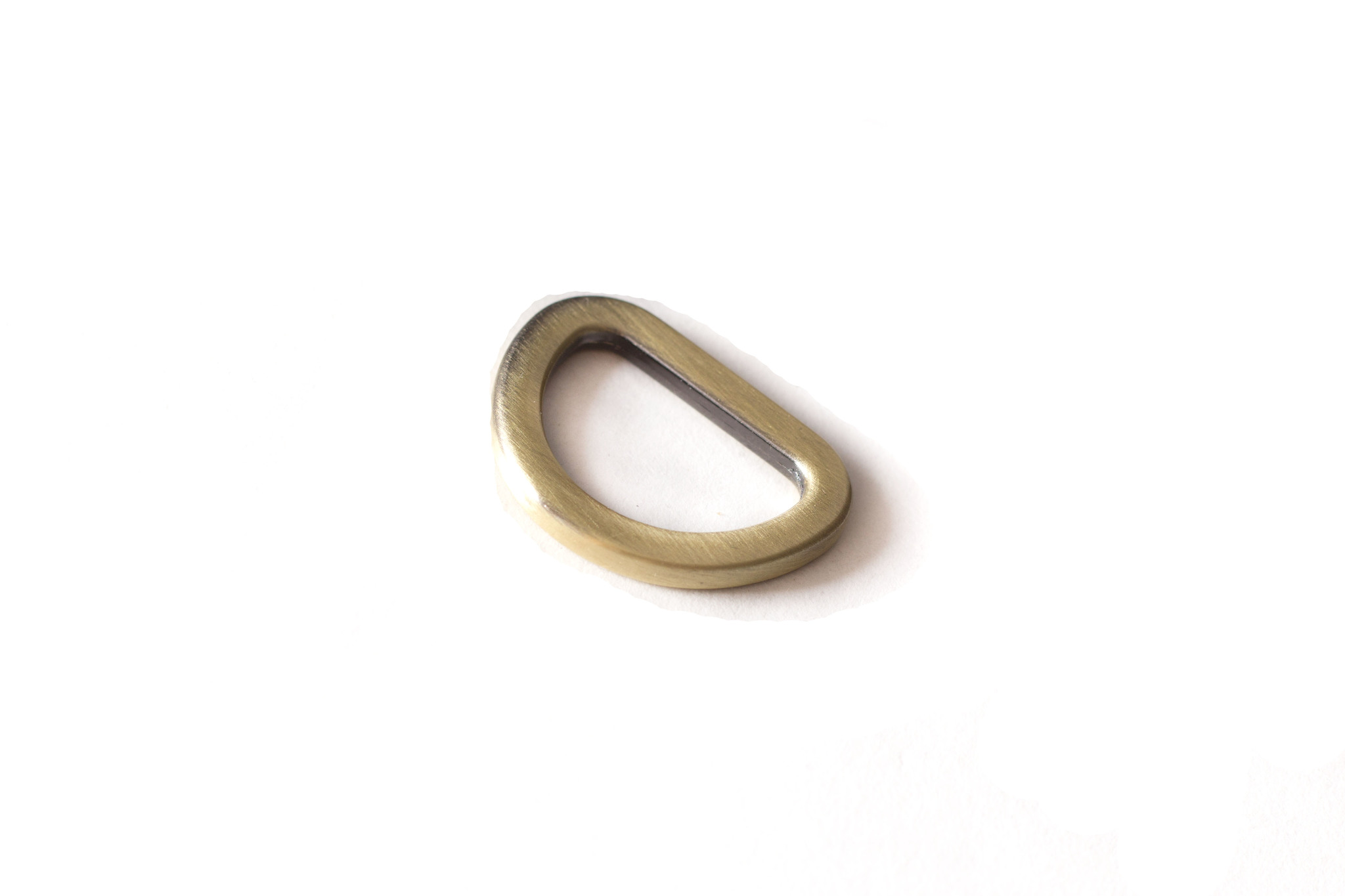 Полукольцо 20х13 мм, латунь
