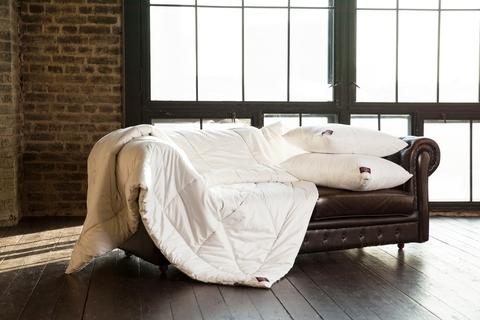 Одеяло пуховое стеганое всесезонное 200x220 «Cashmere Grass»