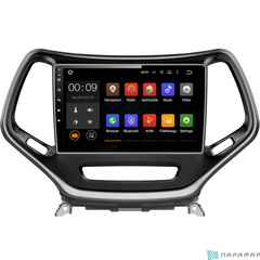 Штатная магнитола для Jeep Cherokee на Android 6.0 Parafar PF999Lite