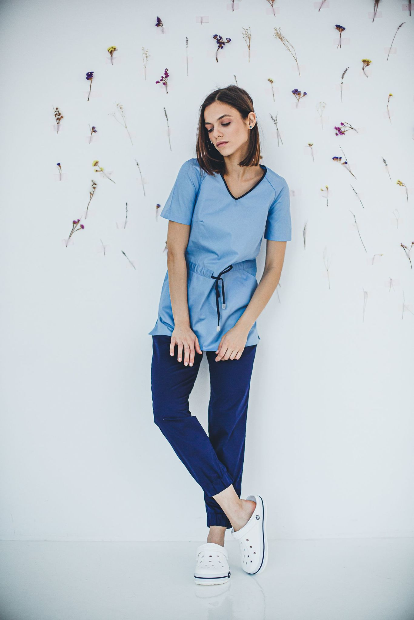 Блуза женская медицинская М 282