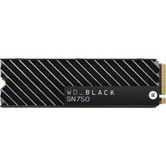 SSD диск WD 500GB WD_BLACK SN750 NVMe M.2 с теплоотводом