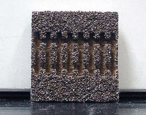 Балластировка для прямых рельсов,G 3, 43 м темная 86306