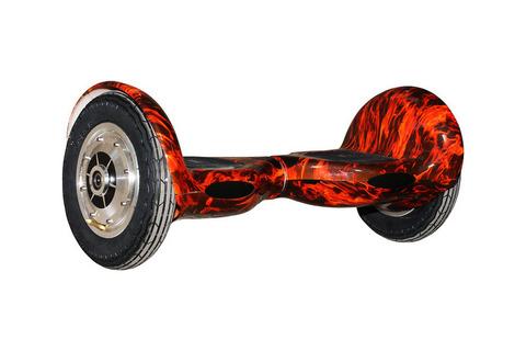 Гироскутер с 10 дюймовыми колесами  Красное пламя