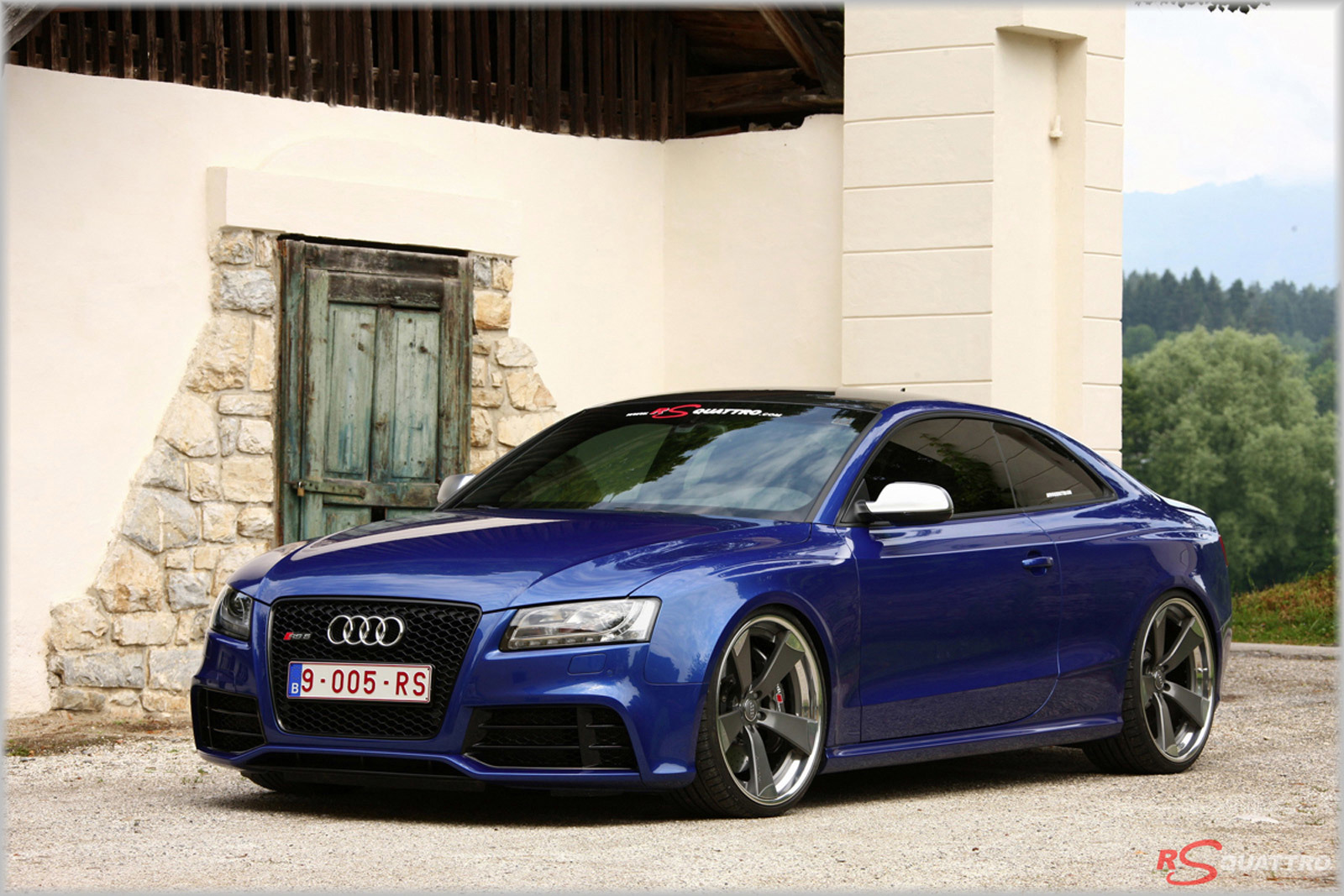 AUDI RS5 – ADVRSQ CONCAVE WHEELS