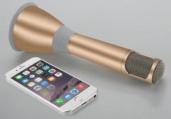 Беспроводной - Караоке микрофон с динамиком -Tuxun k068 bluetooth 3.0