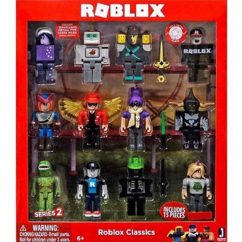 Классический набор Роблокс из 12 фигурок. Серия 2