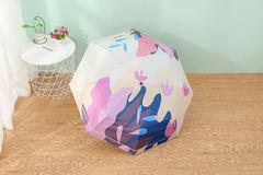 Женский облегченный зонт, с защитой от УФ, 8 спиц, разноцветный 03
