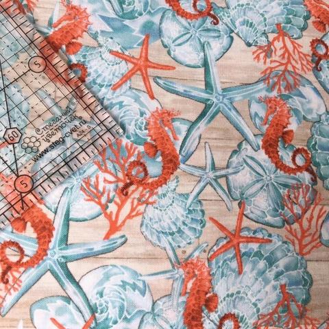 Ткань для пэчворка, хлопок 100% (арт. JO0806)