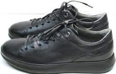 Стильные мужские кеды кроссовки демисезонные мужские Ikoc 1725-1 Black.