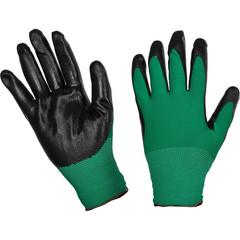 Перчатки рабочие трикотажные нейлоновые с нитриловым покрытием (размер 9)
