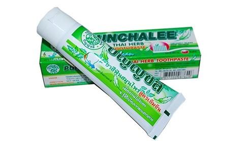 Зубная паста Органическая с тайскими травами 35г Таиланд