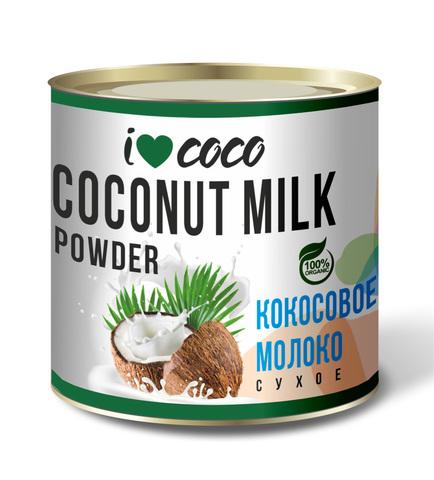 Молоко кокосовое сухое ILoveCoco, органическое, Шри-Ланка, 150 г