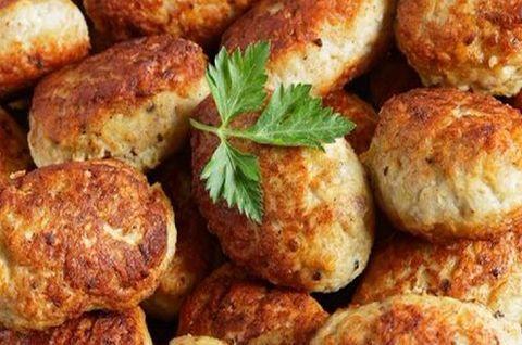 Вкусные натуральные котлетки из свинины без глютена