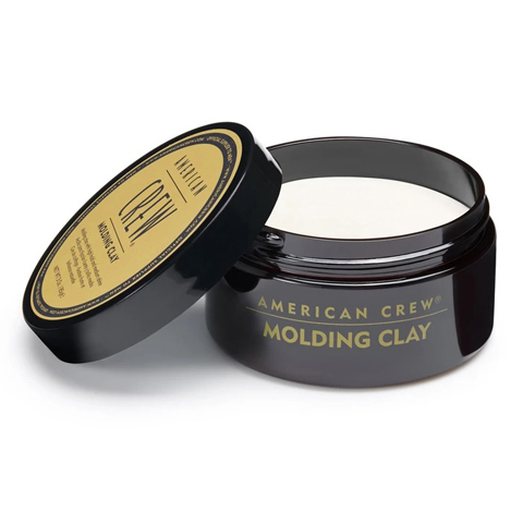 American Crew Styling: Формирующая глина сильной фиксации со средним уровнем блеска для укладки мужских волос (Molding Clay), 85г
