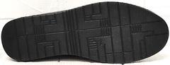 Стиль смарт кэжуал женские мокасины на шнурках. Черные кеды с черной подошвой EVA collection 151 Black.