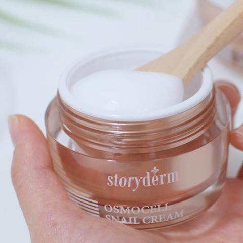 STORYDERM Регенерирующий лифтинг-крем с муцином улитки Osmocell Snail Cream
