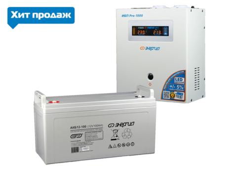 Комплект ЭНЕРГИЯ PRO 1000+АКБ 12-100