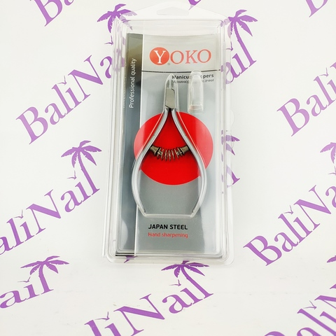 Кусачки для кутикулы, Размер лезвия - 4 мм, Спиральная пружина, (кобальт)  105*55 мм