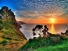 Алмазная Мозаика 40x50 Вид с гор на море