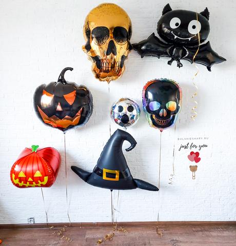 Шарики на хеллоуин
