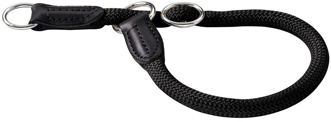 Ошейники Ошейник-удавка для собак Hunter Freestyle 55/10 круглый нейлон черный 62634.jpg