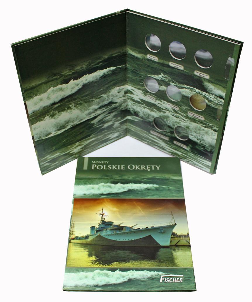 Альбом для польских монет серии