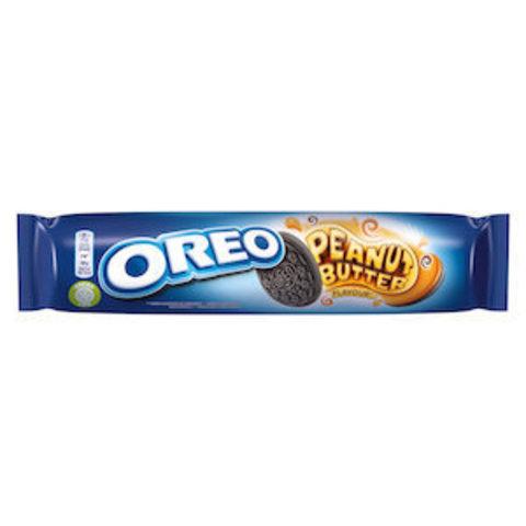 Oreo Peanut butter Орео с арахисовой пастой 154 гр