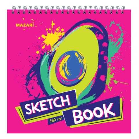 Скетчбук блокнот для рисования Mazari